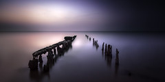 whitstable (richard carter...) Tags: longexposure sunset seascape canon kent whitstable 1635 eos5dmk2