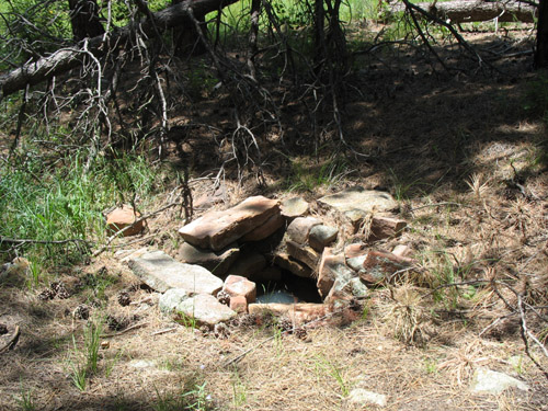 Photo - Stone Lined Pit