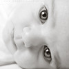 LOOK (joaopsr) Tags: portrait bw baby nikon newborn rodrigues joao nikon50f18 d700 joaorodrigues nikond700 joaopsr