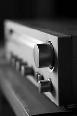 Amplify (Xjs-Khaos) Tags: music radio controls sound amplifier knobs greyscale