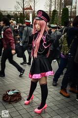 Comiket 83-526 (marcellomasiero) Tags: girls anime cute sexy japan cool cosplay manga guys crossdressing videogames kawaii   odaiba cosplayers     comiket    comiket83 tokyobighsight