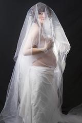 Kali (austinspace) Tags: light portrait woman studio nude washington spokane pregnancy pregnant maternity sheet expecting alienbees