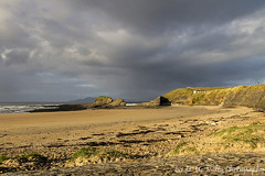Bundoran Beach (linda_mcnulty) Tags: ireland sea seascape beach water clouds canon landscape cliffs donegal bundoran