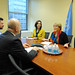UN Women Executive Director Michelle Bachelet meets with Michel Forst