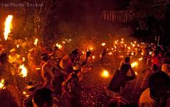Fire War ( Ter-Teran) (Yanfhoto Instan) Tags: bali canon eos 8mm budaya nyepi caka samyang kesanga tradisi jasri fishaye calcer pengerupukan perangapi terteran yanfhoto krangasem