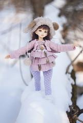 Rainbow (KittyWild) Tags: doll bjd hybrid unoa lusis recast leekeworld artbody