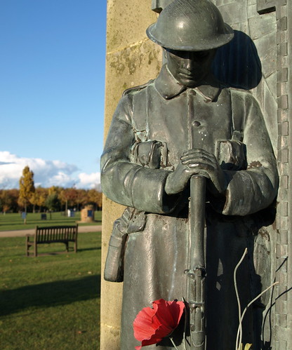 The National Memorial Arboretum - guard