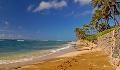 Kaalawai Beach Area (Explored 3/17/2013) (jcc55883) Tags: ocean sky beach clouds hawaii sand nikon oahu shoreline pacificocean blackpoint kahala yabbadabbadoo d40 kaalawaibeach nikond40 diamondheadroad kahalaavenue