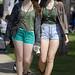 Leggy St.Patrick day girls