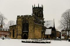 Stafford in the snow (Ugborough Exile) Tags: uk england nikon staffordshire midlands stafford d800 2013 nikon2470mm