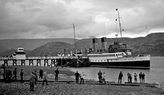 King George V Tighnabruaich (ianandlaura.ferguson) Tags: coast scotland clyde turbine steamers kinggeorgev tighnabruach crsc