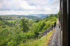 brecon - view from the train (grahamdale74) Tags: alyssia caitlin chel roy joan mum dad 2016 south wales