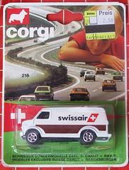 Corgi for Switzerland (streamer020nl) Tags: corgi junior mettoy gb greatbritain diecast metal model toys spielwaren jouets speelgoed