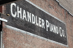 Chandler Piano Co, surviving signage, Downtown Brooklyn (Eating In Translation) Tags: downtownbrooklyn signage