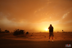 Storm Chaser (No Stone Unturned Photography) Tags: stormchaser arizona monsoon summer storm haboob duststorm clouds sunset wind desert sky