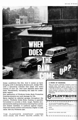 Flintkote (Clanger's England) Tags: 1963 london motorshow ad classiccar