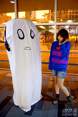 Undertale 41 (MDA Cosplay Photography) Tags: undertale frisk chara napstablook asriel cosplay costume photoshoot otakuthon 2016 montreal quebec canada undertalecosplay fun