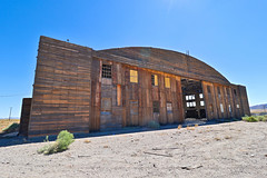 Southern Hangar (Uncharted Sights) Tags: wwii tonopah army airfield air force military training p39 b24 liberator bombers glide bombs top secret abandoned nevada test range hangars hangar world war 2 canon 80d adventure explore discover urbex forgotten airport historic history old plane planes airacobra