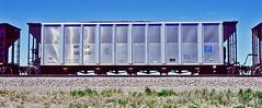 APOX 98397 coal hopper-Mesa, Colorado. (Wheatking2011) Tags: apox coal hopper alabama power company union pacific railroad mesa colorado 1999