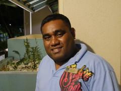 The security guard, Marshall Island Resorts.