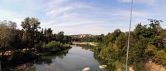 Il Reno in un giorno d'agosto (Paolo Bonassin) Tags: italy emiliaromagna casalecchiodireno pontedipace bridges ponti bridge ponte fiumi reno rivers fiumereno