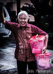 My Grandfather is a Model (sihite32) Tags: grandfather old young people red model person