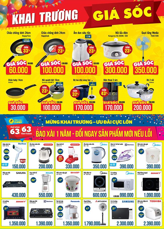 Khai trương siêu thị Điện máy XANH Tiền Hải, Thái Bình