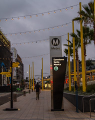 Downtown Santa Monica Station (kengikat40) Tags: rawlastreet streetphotography whileimwandering wanderer wander mylifethroughmylens santamonicaplace mall santamonicamall santamonica downtownsantamonica downtownsantamonicastation dtsm etrain expoline metro los angeles