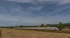 """2071_2016_07_10_Haunetal_Neukirchen_DB_411_569_""""Tutzing""""_&_DB_411_561_""""Andernach""""_ (ruhrpott.sprinter) Tags: ruhrpott sprinter geutschland germany nrw ruhrgebiet gelsenkirchen lokomotive locomotives eisenbahn railroad zug train rail reisezug passenger güter cargo freight fret diesel ellok hessen haunetal neukirchen db bobymeridian cancantus dispo eloc mrcedispolok rhc railpoolrpool setg txlogistik 152 185 193 411 415 428 1266 es64f4 ice r5 hilfszug trecker heuwender kornfeld weizen cocoon alien helikopter outdoor logo natur blumen tiere rinder schmetterlinge graffiti"""