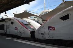 SNCF TGV Euroduplex 812 (310223) & 824 (310247) (Will Swain) Tags: paris gare de lyon 18th july 2016 train trains rail railway railways transport travel vehicle vehicles europe france french voyage capital city centre parisien ile ledefrance le socit nationale des chemins fer franais  grande vitesse sncf tgv euroduplex 812 310223 824 310247
