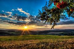 IMG_6420_1_2_tonemapped-2 (Andr Leonhardt) Tags: sommer sonnenuntergang sunset abend beauty berge colors clouds deutschland erzgebirge hdr himmel heaven hills evening wolken landschaft landscape natur nature felder fields