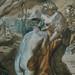 CHASSERIAU Théodore,1840 - Diane et Actéon, Etude (drawing, dessin, disegno-Louvre RF24456) - Detail 8