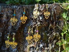 DSC_0167-1 (Chaumurky) Tags: jewelry jewellery bijoux fantasyjewelry dragon earrings dragonearrings dragonjewelry