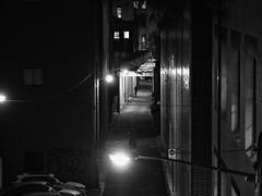 (bigboysdad) Tags: olympus ep5 m43 75mm street blackandwhite bw monotone monochrome night nightlife