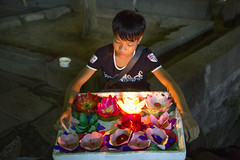 The flower kid (ANOTHER DAY AT THE OFFICE) Tags: kid fenghuang flower night portrait hunan china child seller travel