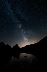 Voie Lactée au dessus du Lac Balaour (Aurelie Gole) Tags: milyway mercantour long exposure voie lactée sérénité étoiles lac balaour lake france