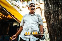 Yellow (The Fresh Feeling Project*) Tags: elcarmen valencia retrato vendedor pjaros bird portrait street streetphotography streetphotographer city yellow summer contrast amarillo