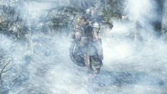 In the eye of the storm (NCanela) Tags: enderal winter storm white skyrim blue weather snow bright icelands flickr