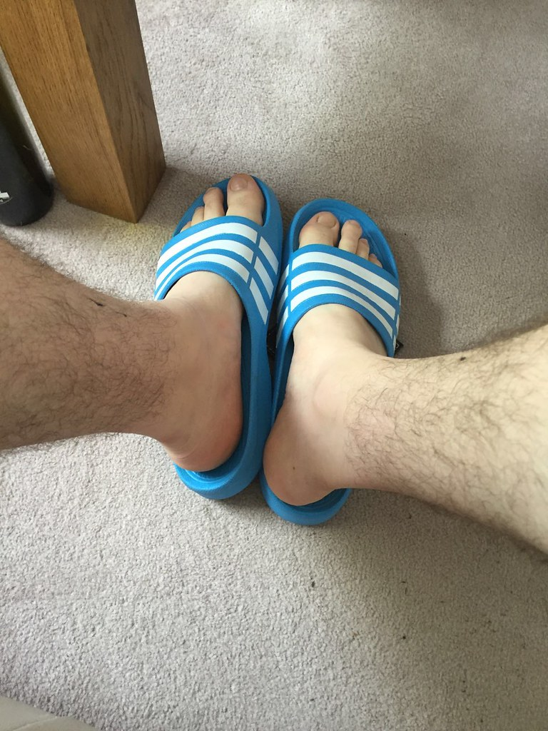 Flip flops domination and toes sucking
