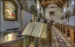 Brixworth Church 5 (Darwinsgift) Tags: brixworth church all saints saxon old oldest northamptonshire england hrd photomatix nikon d810