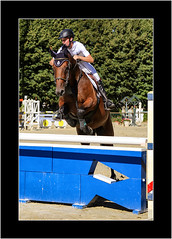 Jump! (Stuart Kingston Photography) Tags: horse show jumping pompadour sport action cheveaux rider showjumping haras equestrian canon obstacles fences outdoor