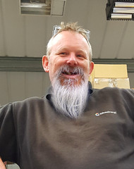 Toothy Hemming (Worcestershire UK) Tags: ethosenergy ethos work workshop uk steamuk worcs worcestershire worcester workmates roberthemming robhemming beard