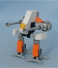 Orange Ostrich (Mantis.King) Tags: kreo lego legogaming legomecha moc mechaton mobileframezero mfz mf0 microscale mecha mech scifi futuristic brickblend wargames