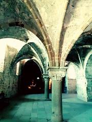 2016-09-08_11-20-48 (ChatKra) Tags: montsaintmichel abbaye monument pierre ancien couleur luminosit colonne arc architecture
