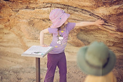 Children enjoy Dinosaur Bone (BLMUtah) Tags: national public lands day npld2016 youth education dinosaurs paleontology outdoors explore utah moab blm bureauoflandmanagement grateful volunteers stewardship