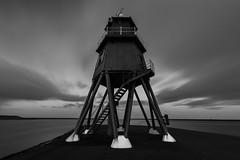 The Groyne BnW (darylswalker) Tags: canon canon100d groyne southshields black blackandwhite bnw longexposure le