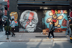 Bernie Stardust (Matt_Caville) Tags: bernie saunders david bowie ziggy stardust new york street photography graffiti art