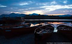 Keswick Landing Stage (saleterrier) Tags: keswick cumbria lakedistrict derwentwater boat water lake sunset calm longexposure evening rowingboat england