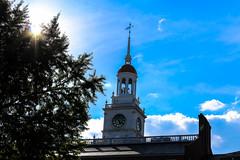 Mercer Law School Clock Tower (NoahKnight) Tags: architecture law school steeple clock historiccampus historical tower clocktower lawschool
