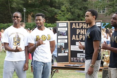 Alpha Phi Alpha brothers (William & Mary Photos) Tags: williamandmary wm williammary collegeofwilliamandmary collegeofwilliammary fraternity sorority greek life sunkengarden